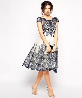 desain dress batik pendek