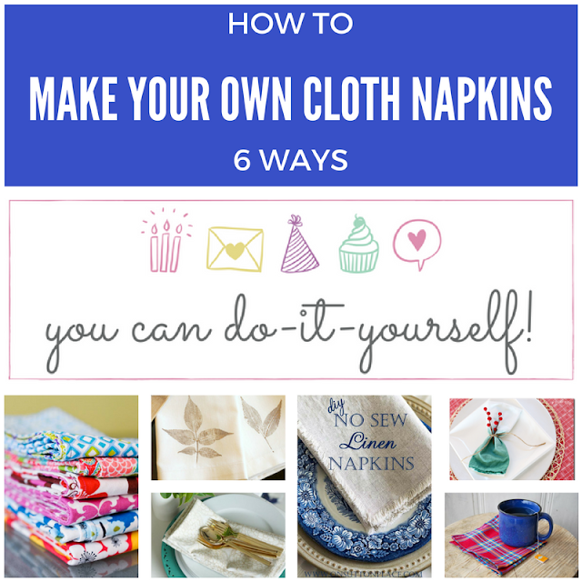 How to Make Your Own Cloth Napkins
