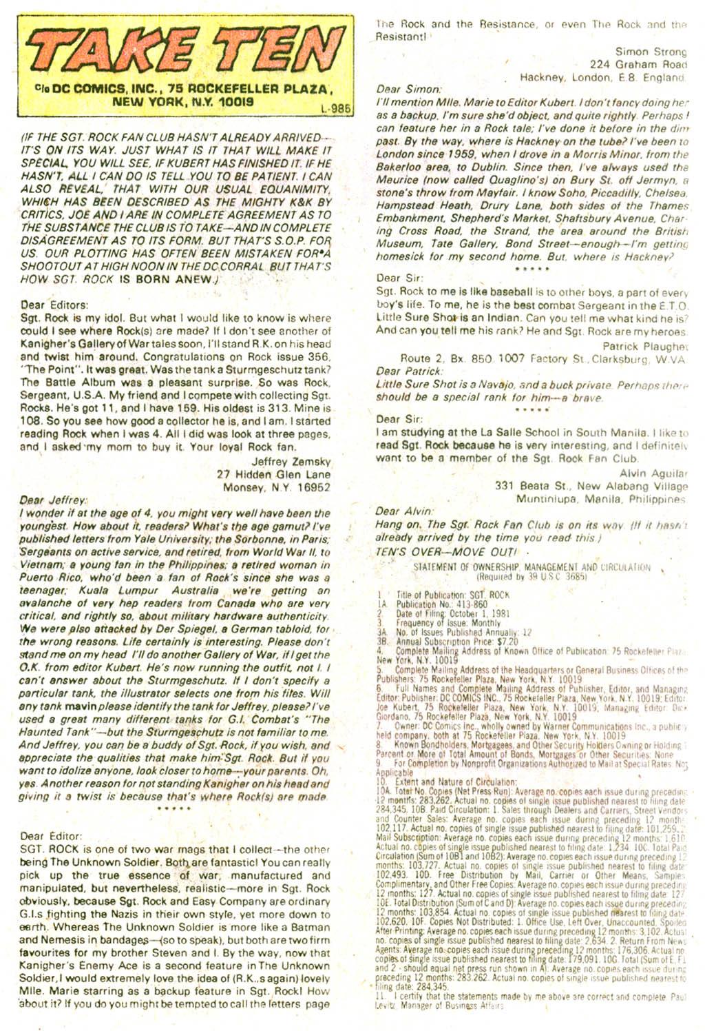 Read online Sgt. Rock comic -  Issue #364 - 32