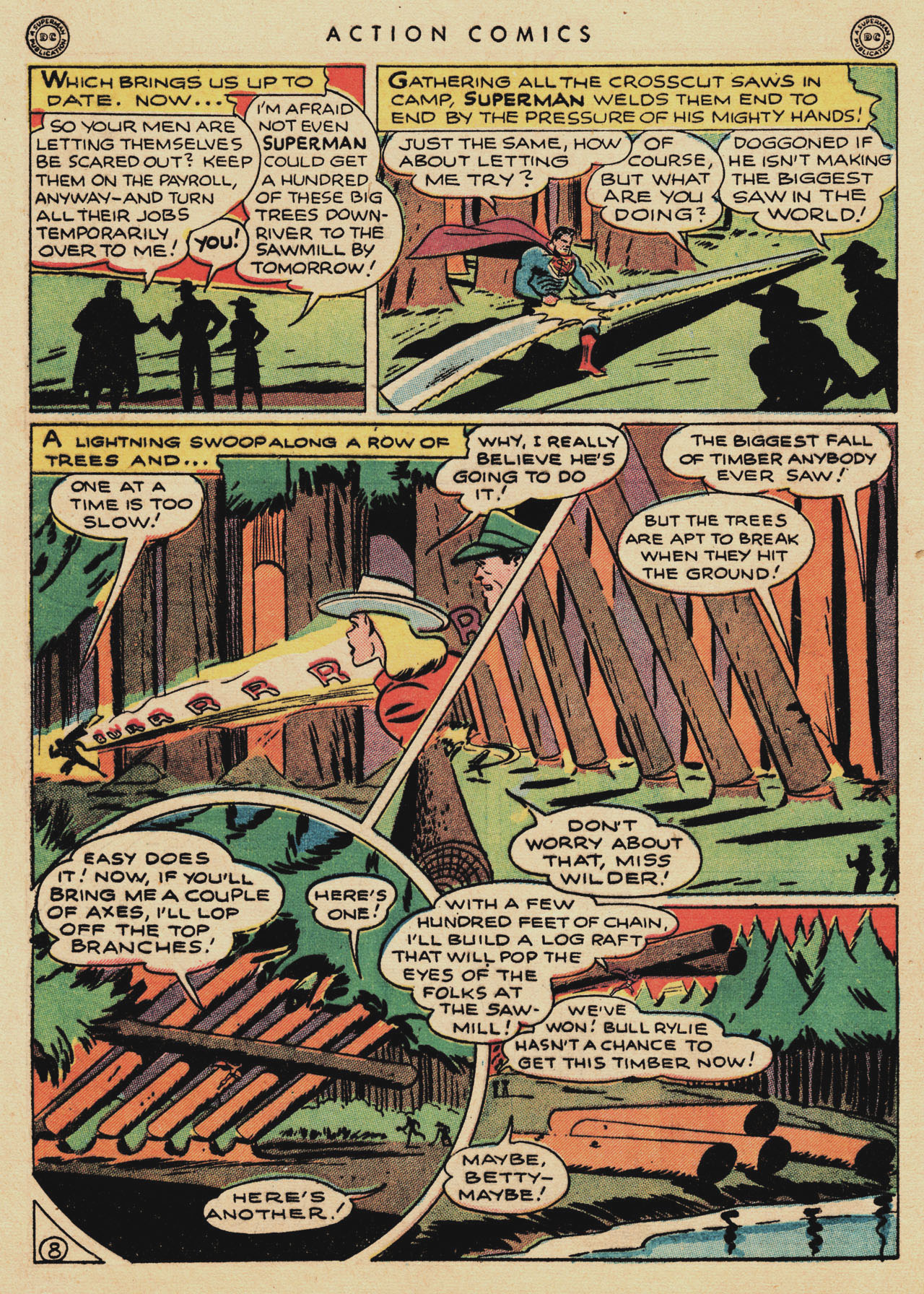 Read online Action Comics (1938) comic -  Issue #94 - 10