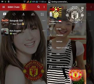 BBM Change Background with MU