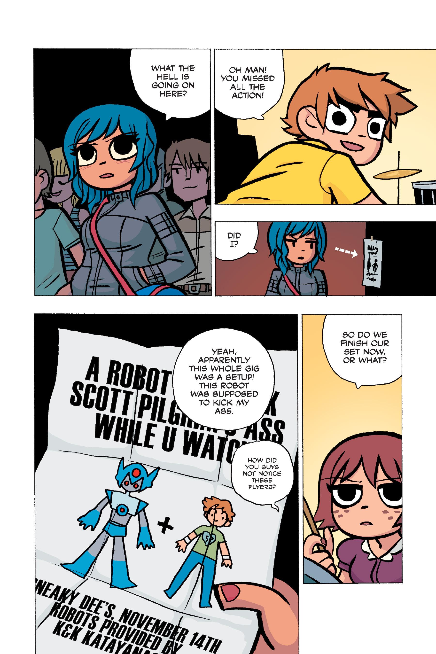 Read online Scott Pilgrim comic -  Issue #5 - 57