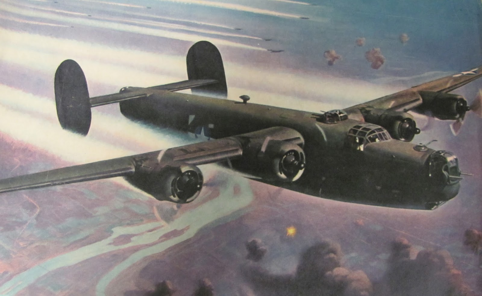 My Father in WWII: The Consolidated B-24 Liberator