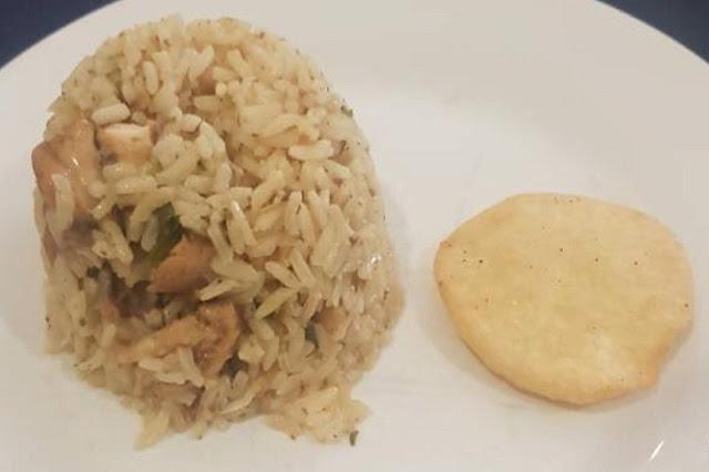 Con este plato celebraron los oficiales de la escuela naval de Mamo el 5 de julio