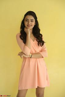 Rukshar Mir in a Peachy Deep Neck Short Dress 118.JPG