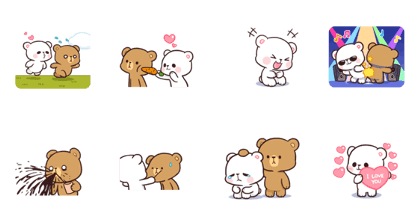 Milk & Mocha : Playful (Animated)