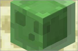 Minecraft Slime Cube Figures