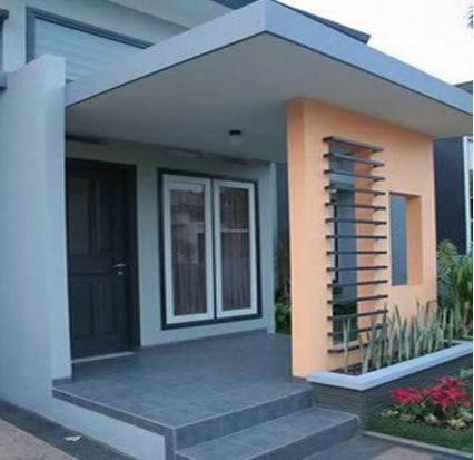 contoh gambar teras rumah minimalis sederhana modern terbaru