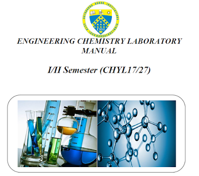 Engineering Chemistry Lab Manual ~ DSCE