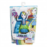 My Little Pony Equestria Girls Friendship Power Rainbow Dash Doll