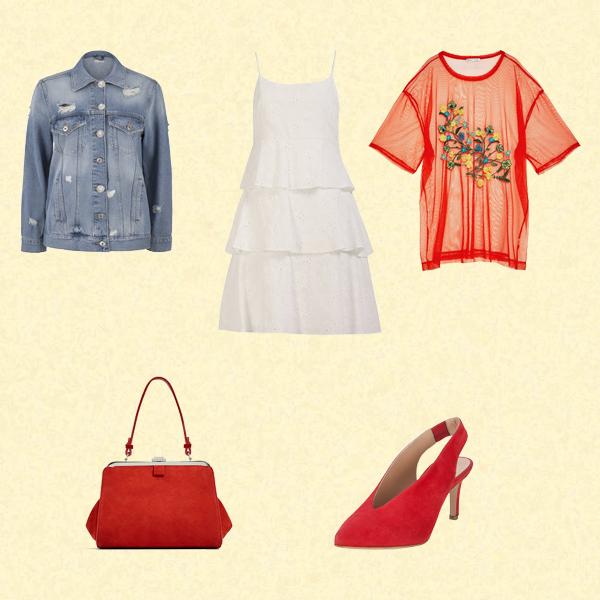 Beyaz Elbise Nasıl Kombinlenir