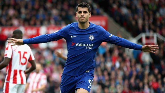 Chelsea manager Antonio Conte insists it was the right decision to replace Diego Costa with Alvaro Morata