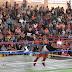 Disfrutan niños huatabampenses de espectáculo de Lucha Libre