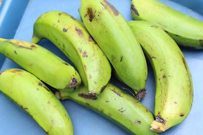 bananes vertes utilisation