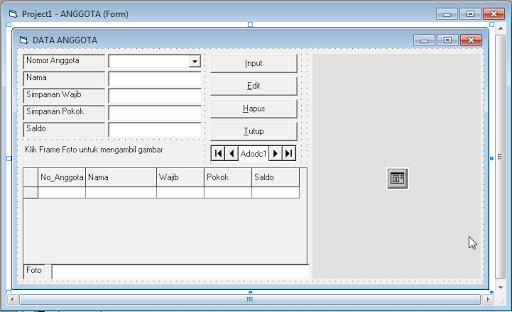 Source coding program Koperasi VB6