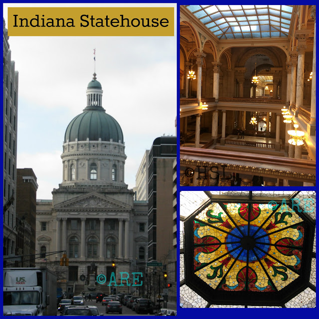 Homeschooling, Field Trips, Indiana Statehouse