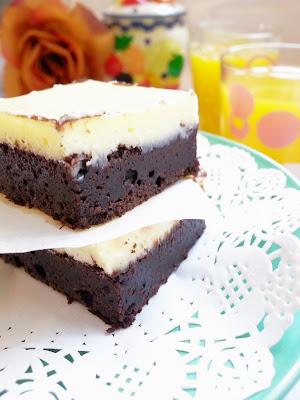 resepi cheese brownies mudah dan sedap