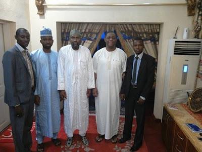 Shiite Muslim Leaders Visit Femi Fani-Kayode at His Home (Photo)
