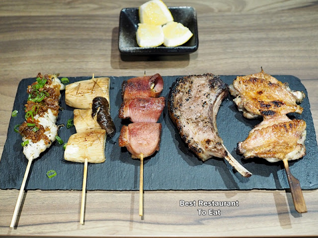 KOUZU Bangsar Bar Restaurant Yakitori Selection