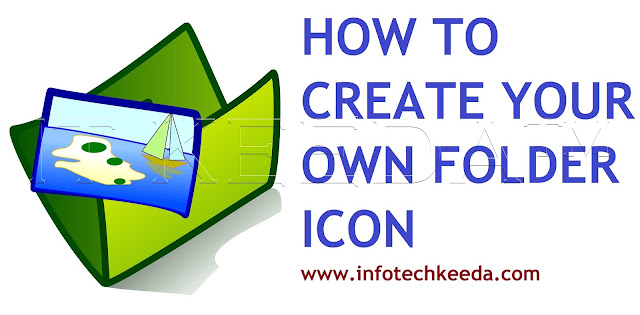 How to create your own photo as a folder icon