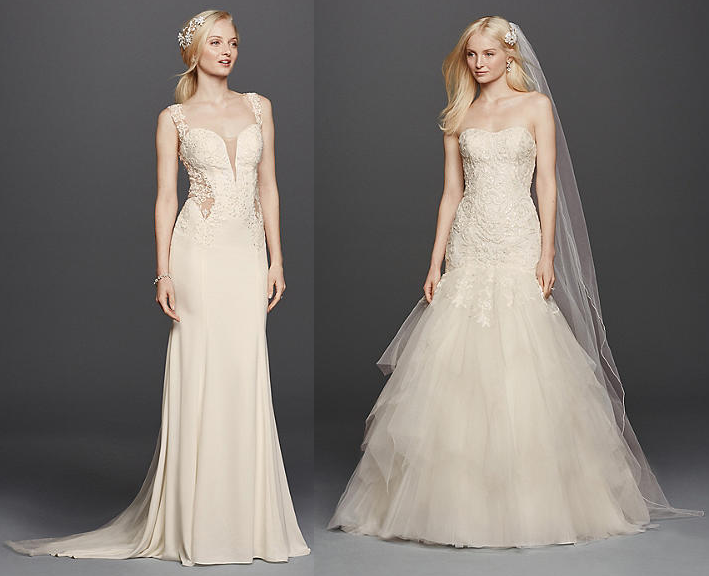 David Pristine Bridal Gowns 2016 www.fashionwearstyle.com