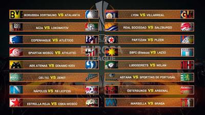 Last 16 teams 2018