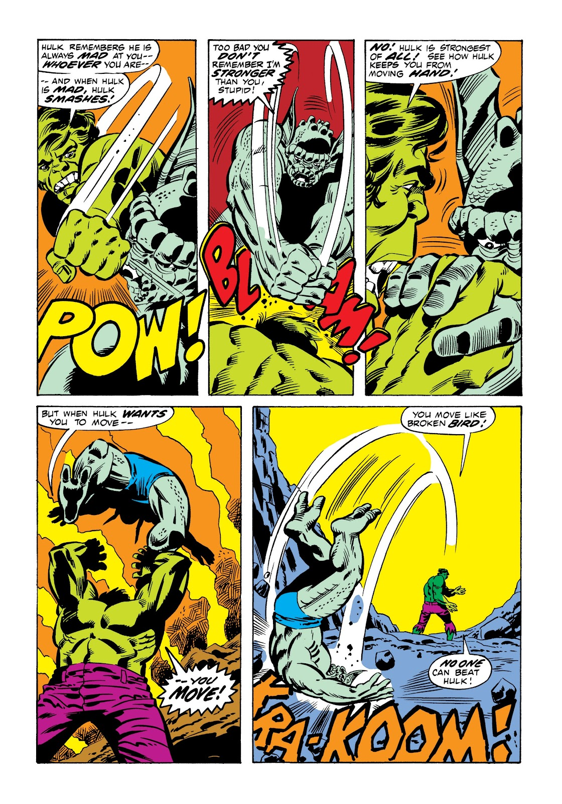 Read online Marvel Masterworks: The Incredible Hulk comic -  Issue # TPB 9 (Part 1) - 68