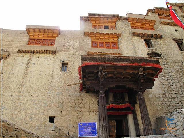O Palácio Real de pedra, em Leh!