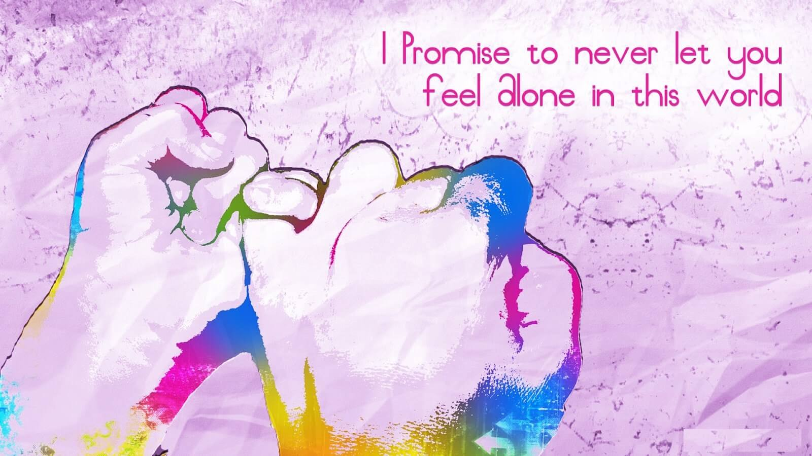 Happy Promise Day Wishes Quotes Shayari for Girlfriend & Wife