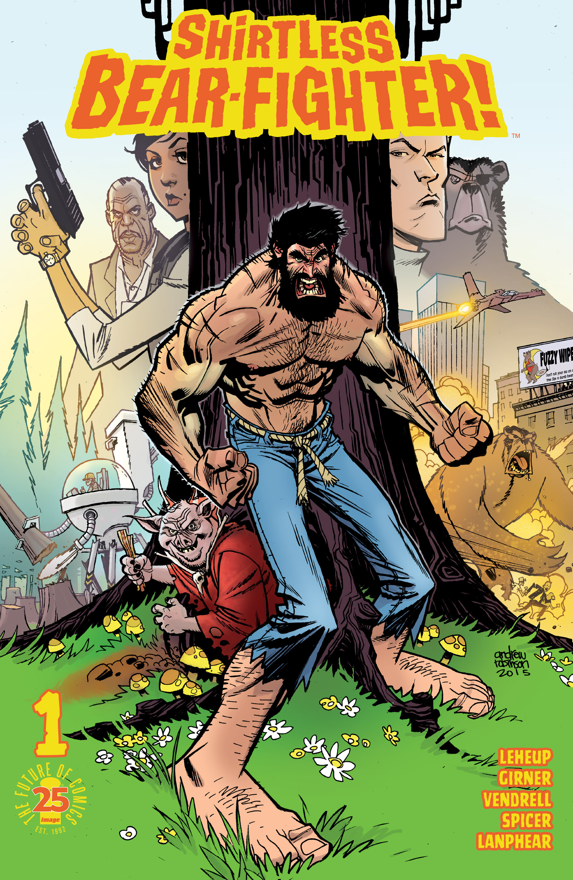Read online Shirtless Bear-Fighter! comic -  Issue #1 - 1