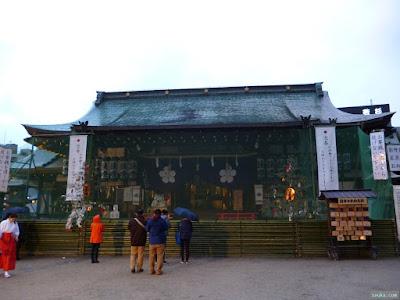 大阪天満宮拝殿