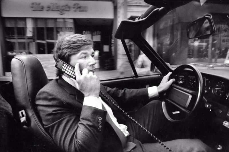 Car Phone Driven From Curiosity To Commodity To