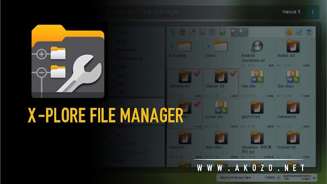 X-plore File Manager Full Unlock Mod Apk