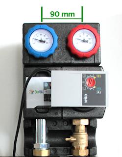 Grupo hidráulico calefacción directo