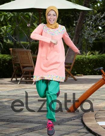 Gambar Baju Muslim Senam Wanita Paling Populer