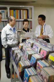 天童市でレコードを聴くコンサート開催