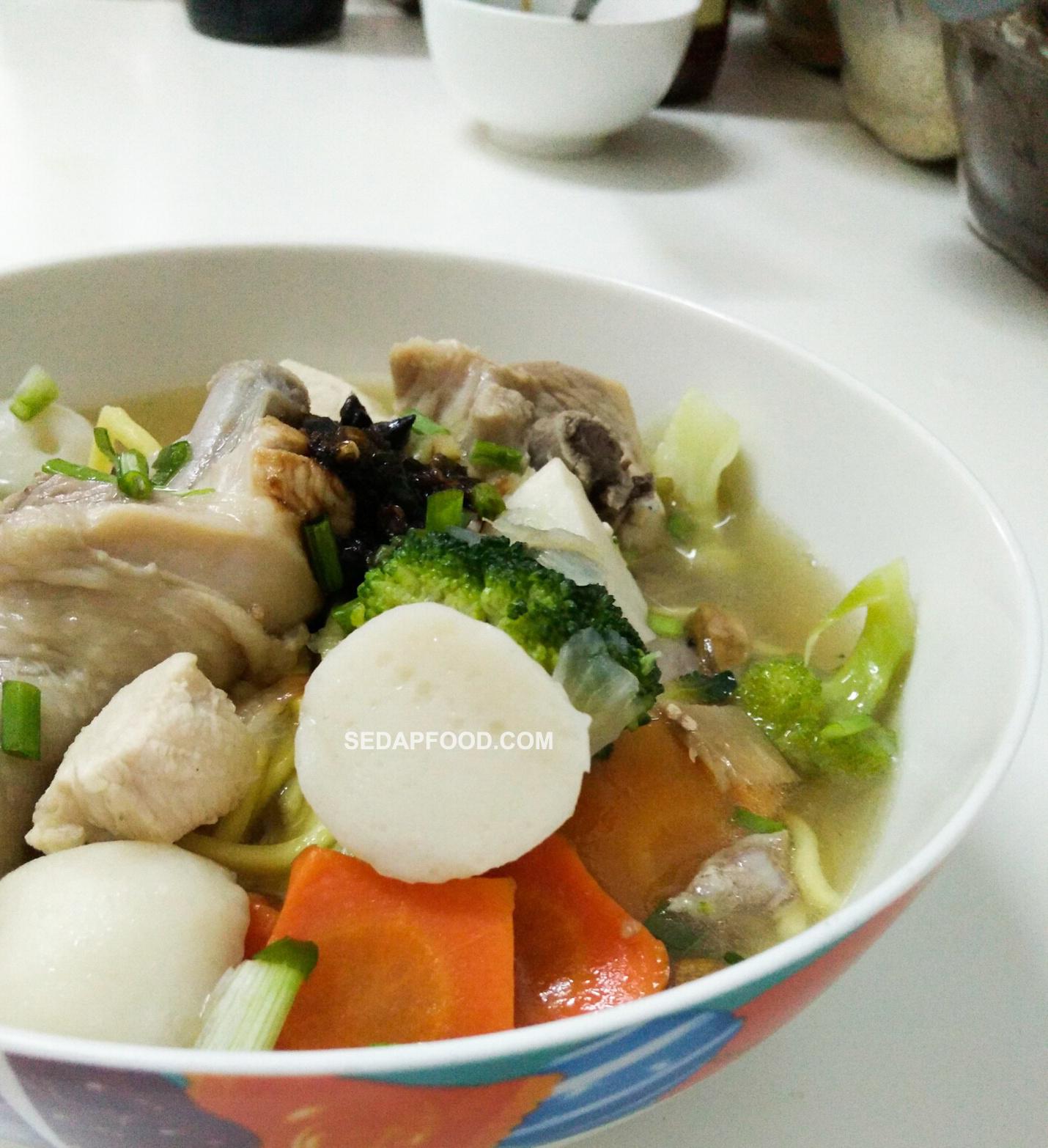 Resepi Sup Ayam Simple Cicah Sambal Kicap Sedap