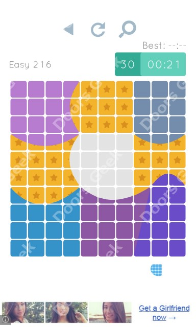 Cheats, Walkthrough for Blocks and Shapes Level 216