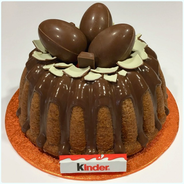 Kinder Egg Bundt Cake