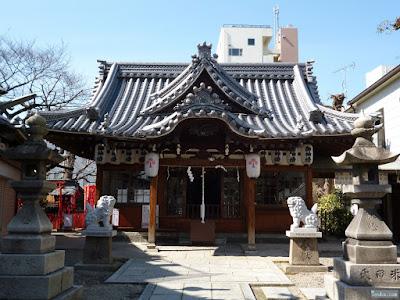 野江水神社拝殿