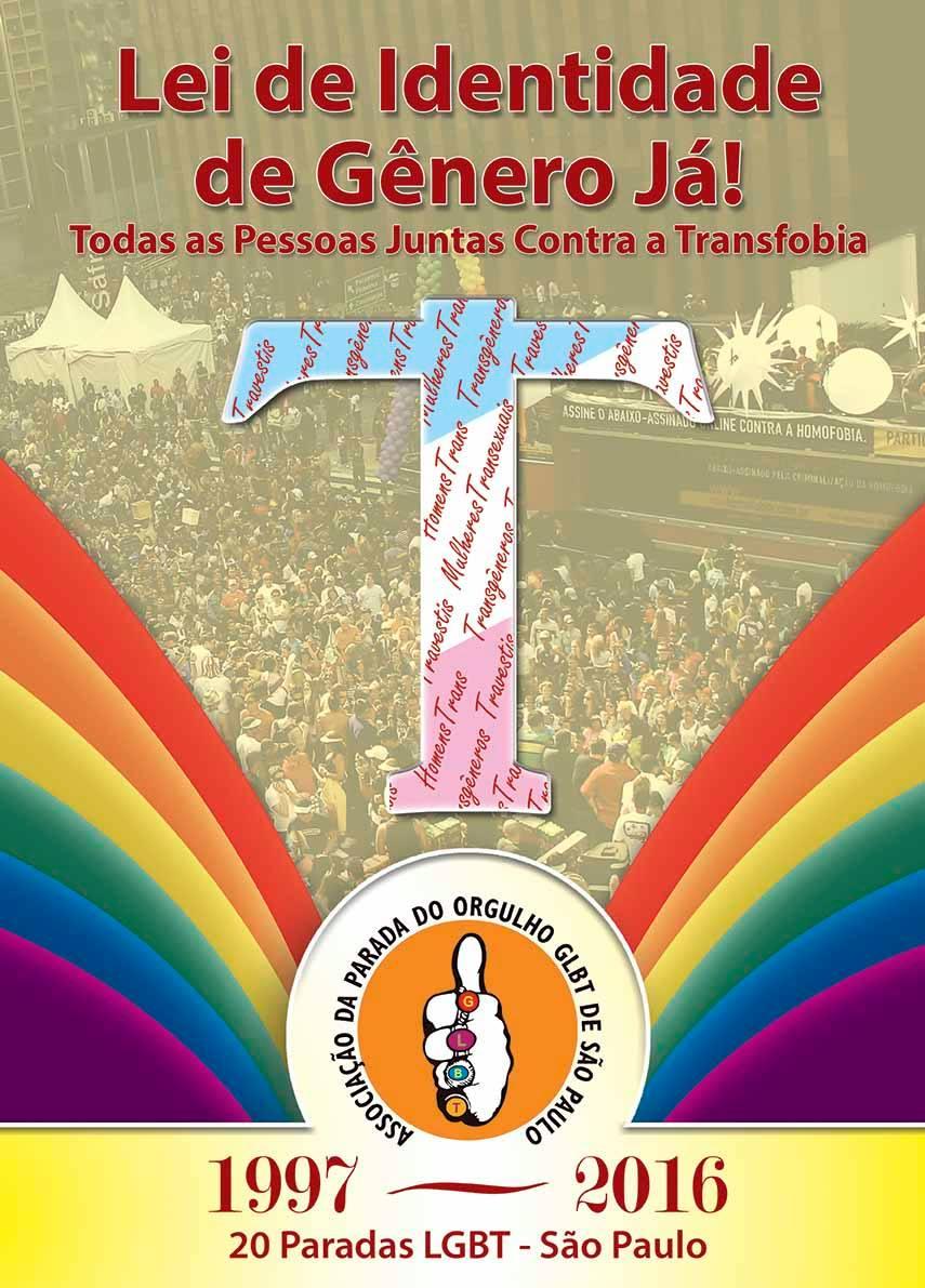 Parada LGBT acontece neste domingo, dia 29