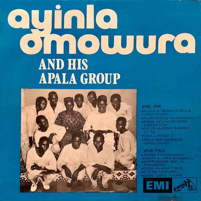 #Nigeria #Yoruba #Ayinla Owomura #Apala #traditional music #African music #world music #talking drums #trance #dance #vinyl