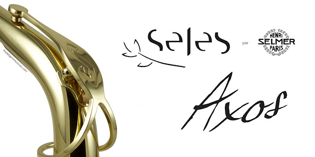 Cover image of the Seles Axos alto saxophone review article
