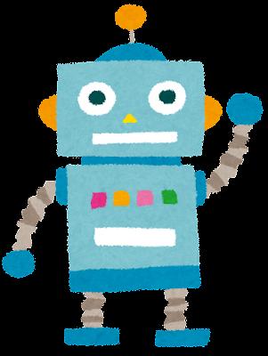 おもちゃのロボットのイラスト