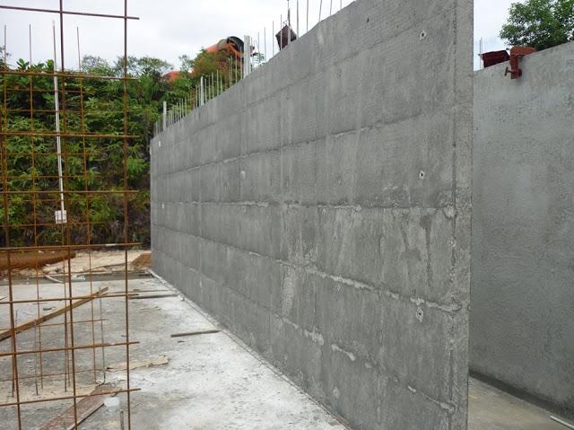 Tường beton chịu lực
