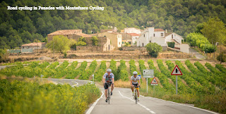 Cycling Penedes with Montefusco Cycling