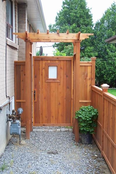 Gate Designs: Cedar Fence Gate Designs