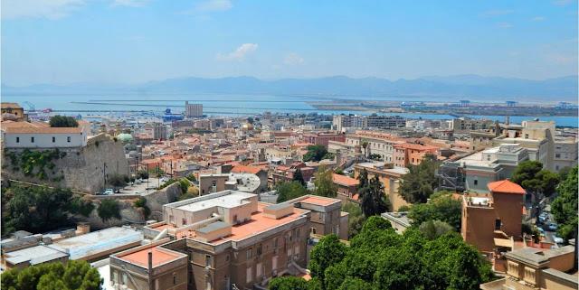 La ciutat de Càller, capital de Sardenya