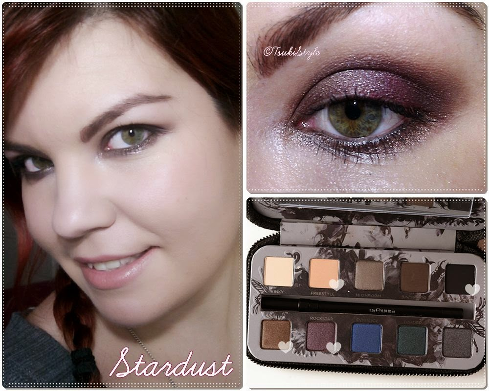 stardust smoked urban decay look