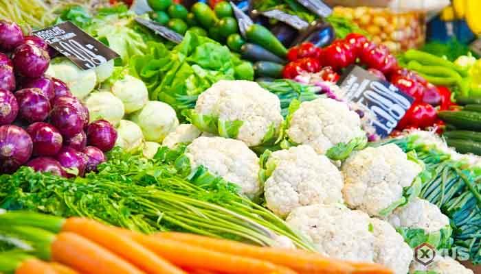 Makanan yang dilarang untuk ibu hamil - Sayur segar